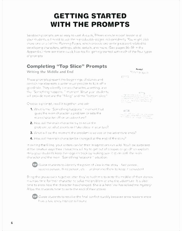 Character Setting and Plot Worksheets Identifying Conflict In A Story Worksheets