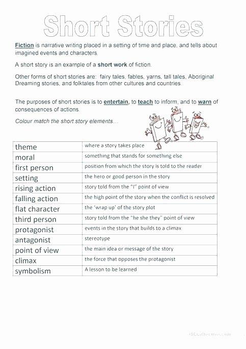 Character Setting Plot Worksheet Writing Short Story Outline Worksheets – Letseatapp