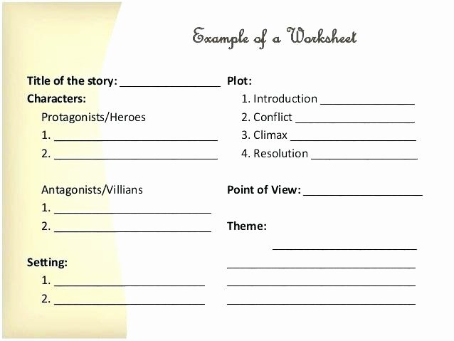 Character Setting Worksheets Story Elements Worksheets 3rd Grade Whats the Setting Free