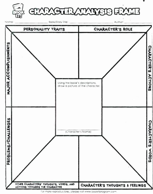 Character Traits Worksheet 2nd Grade Character Development Worksheet Character Worksheets