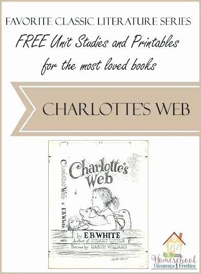 Charlotte Web Character Traits Worksheets Unique Charlottes Web Worksheets