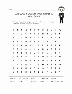 Charlotte Web Character Traits Worksheets Unique Lesson Charlottes Web Worksheets Grade 2 – Tusfacturas