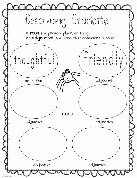 Charlotte Web Character Traits Worksheets Unique Wendy Ea98cde746 On Pinterest