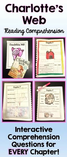 Charlottes Web Worksheets 57 Best Charlotte S Web Images In 2016