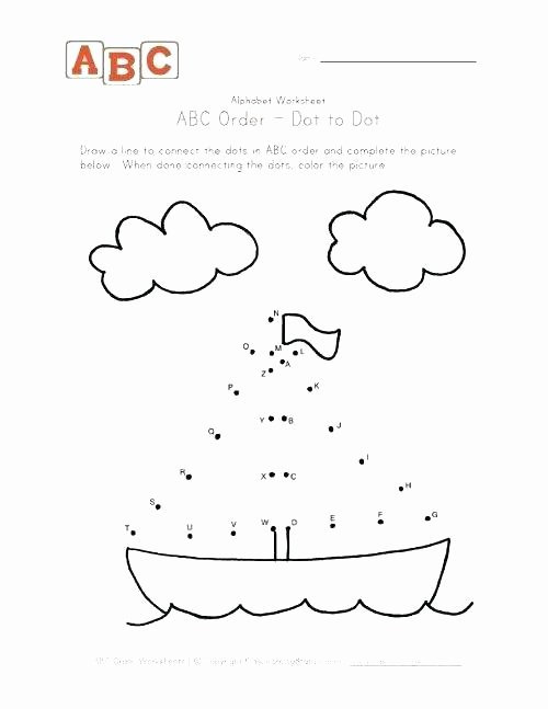Christmas Connect the Dots Printable Abc Connect the Dots Printable Sail Boat Dot to Places Visit