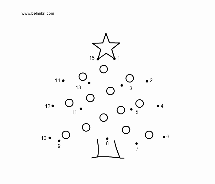 Christmas Connect the Dots Printable Printable Coloring Pages Dot the Dot