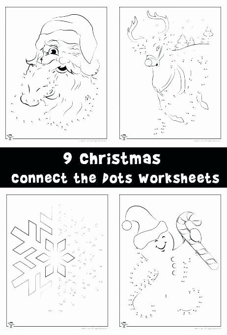 Christmas Connect the Dots Printables Connect the Dots Worksheets Connect Dot to Dot Kindergarten
