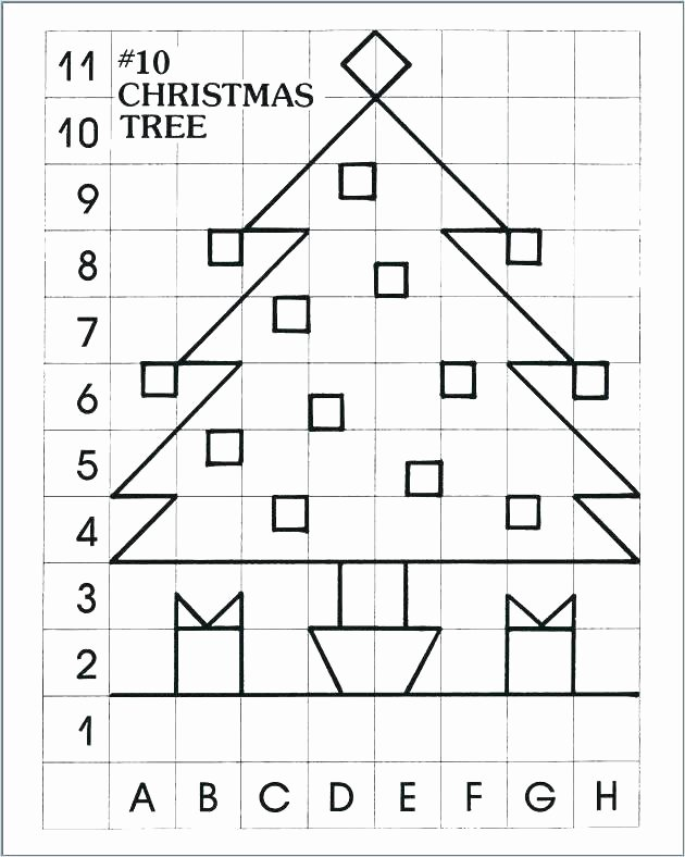 Christmas Coordinate Graph Elegant Kindergarten Christmas Graphing Worksheets