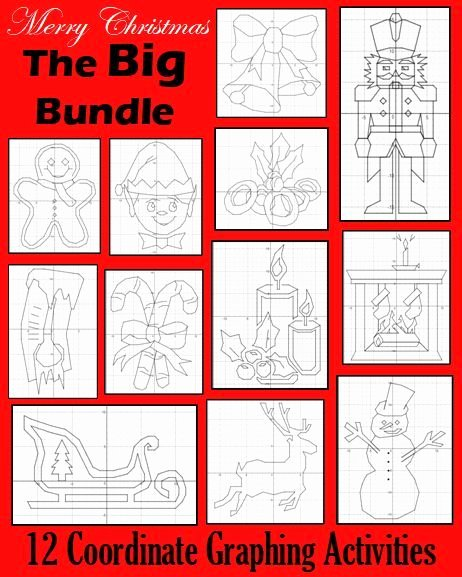 Christmas Coordinate Graphing List Of Pinterest Coordinate Graphing Activities Teachers