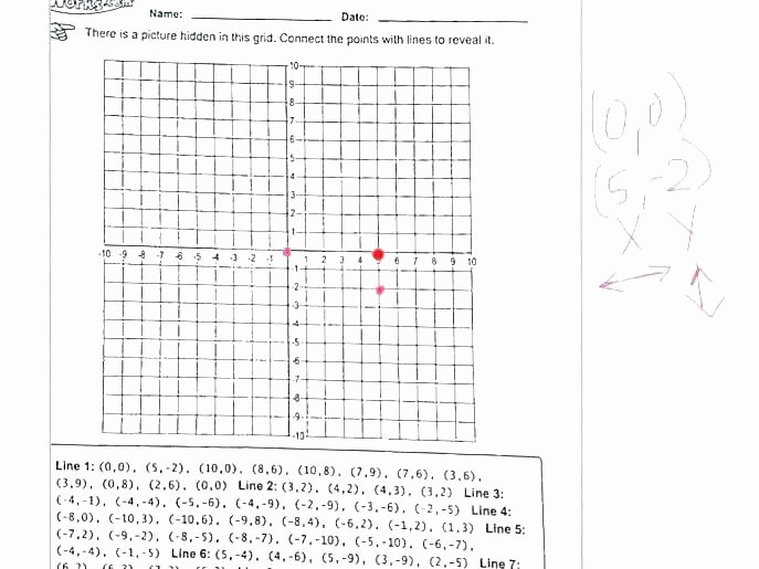 Christmas Coordinate Grid Pictures Awesome Free Printable Coordinate Graphing Worksheets Plane Practice