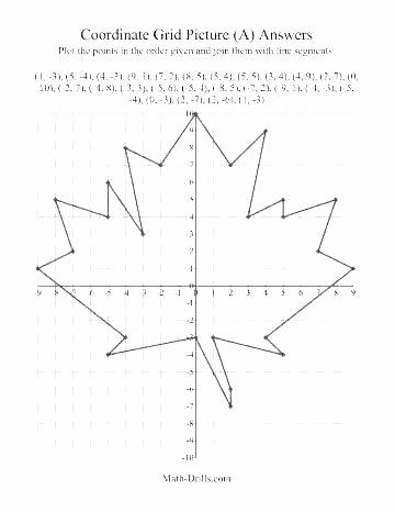 Christmas Coordinate Grid Pictures Elegant Graph Art Worksheets