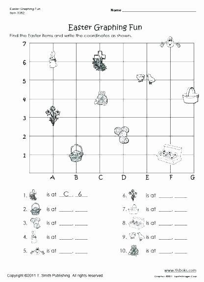 Christmas Coordinates Worksheet 6th Grade Math Coordinate Plane Worksheets Free Collection