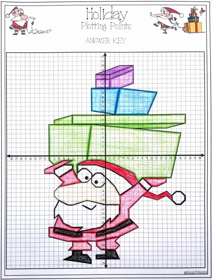 Christmas Coordinates Worksheet Coordinate Art Printable Fun Graph Challenging Worksheets