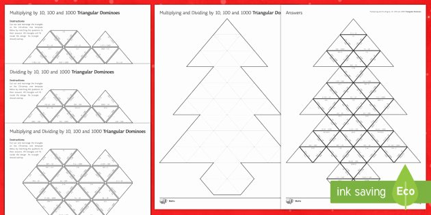 Christmas Coordinates Worksheets Elegant Maths Christmas Multiplying and Dividing by 10 100 and