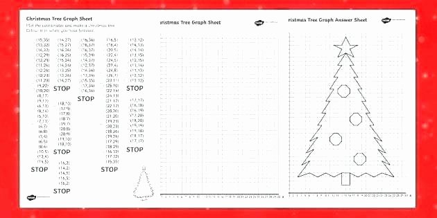 Christmas Coordinates Worksheets Luxury Tree Graph Worksheet Numeracy Free Printable Coordinate