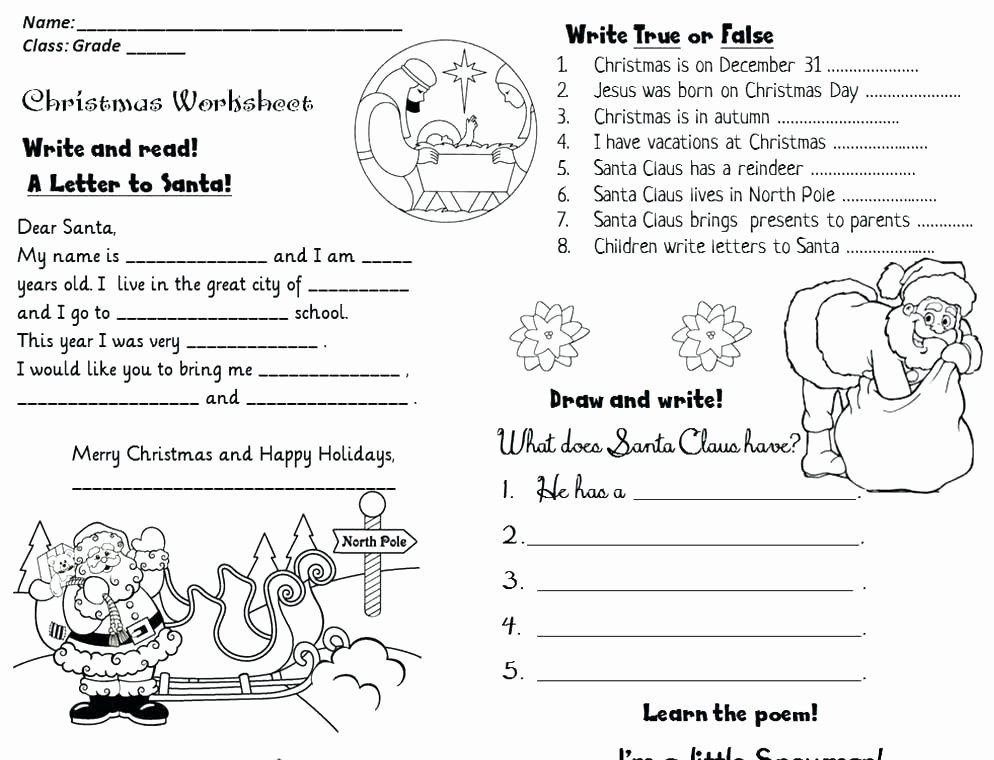 Christmas Counting Worksheets Kindergarten Fresh Activity Worksheet Free Reading Worksheets for First Grade