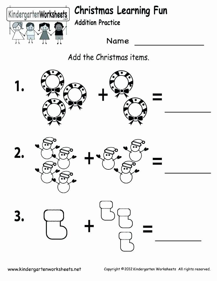 Christmas Counting Worksheets Kindergarten Fresh Drawing Activities at Free for Preschool Worksheet