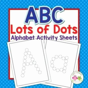 Christmas Dot to Dot Printables A Z Do A Dot Worksheets Preschool Dot to Dot Worksheets