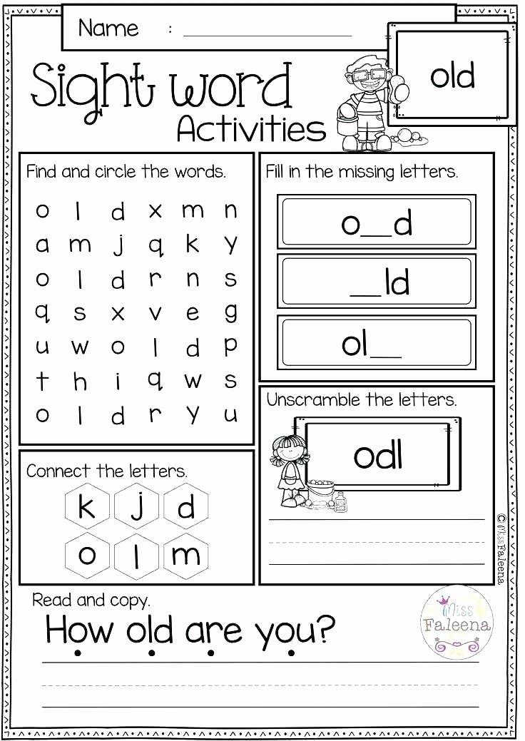 Christmas Dot to Dot Printables Free Printable Sight Word Worksheets
