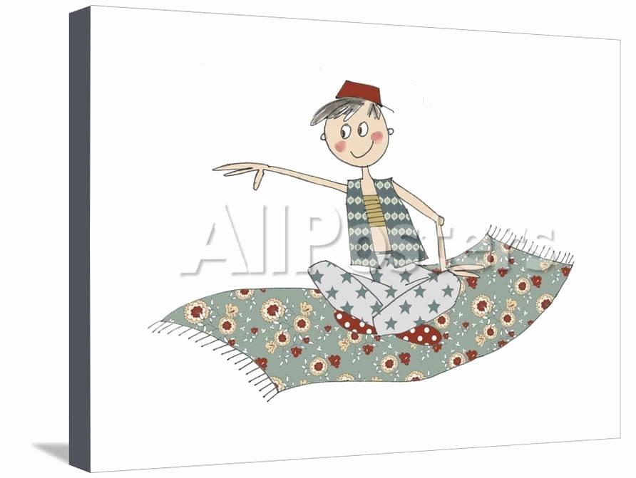 Christmas Extreme Dot to Dot Aladin On Carpet