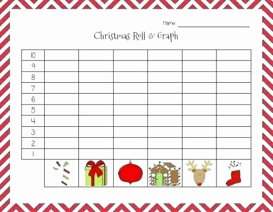 Christmas Graphing Worksheets Kindergarten Christmas Graphing Worksheets