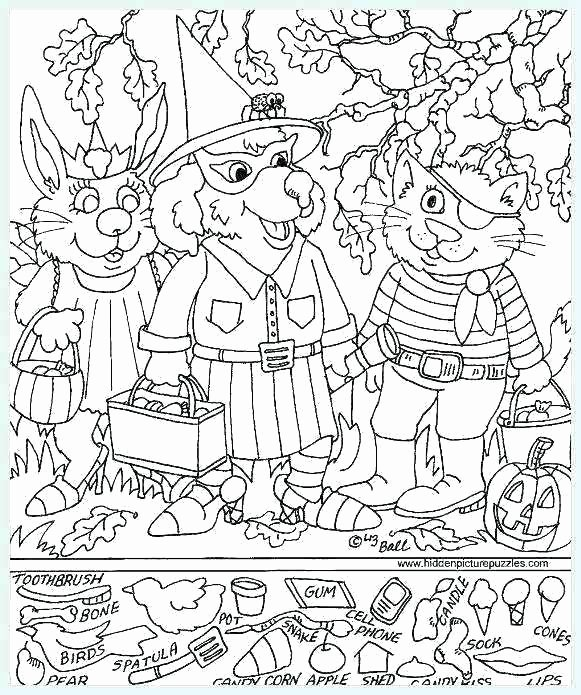 Christmas Hidden Picture Puzzles Printable Hidden Pictures Coloring Pages – Pizzutiflourfo