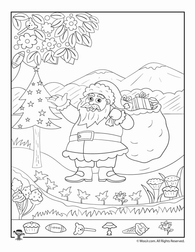 Christmas Hidden Picture Puzzles Printable Printable Christmas Hidden Object Games