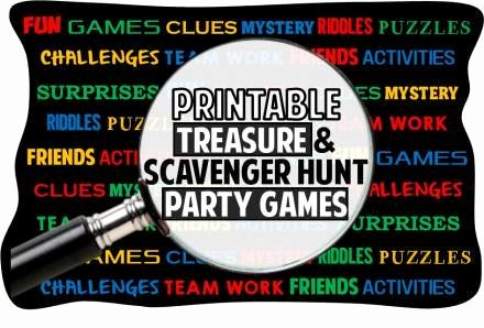 Christmas Hidden Picture Puzzles Printable Printable Treasure Hunt Riddles Clues and Games