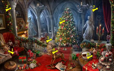 Christmas Hidden Pictures Printable Christmas Hall