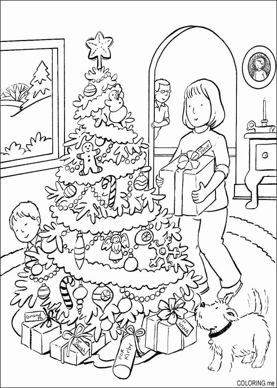 Christmas Hidden Pictures Printable Christmas Hidden Picture Coloring Pages