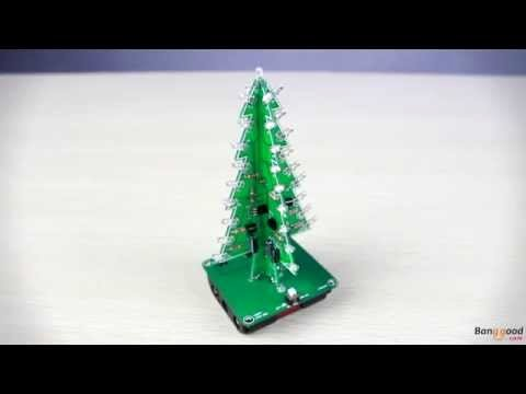 Christmas Tree Coordinate Graphing Best Of Geekcreit Diy Christmas Tree Led Flash Kit 3d Electronic Learning Kit