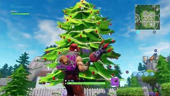 Christmas Tree Coordinate Graphing New fortnite Christmas Trees Map Locations for Dance Under