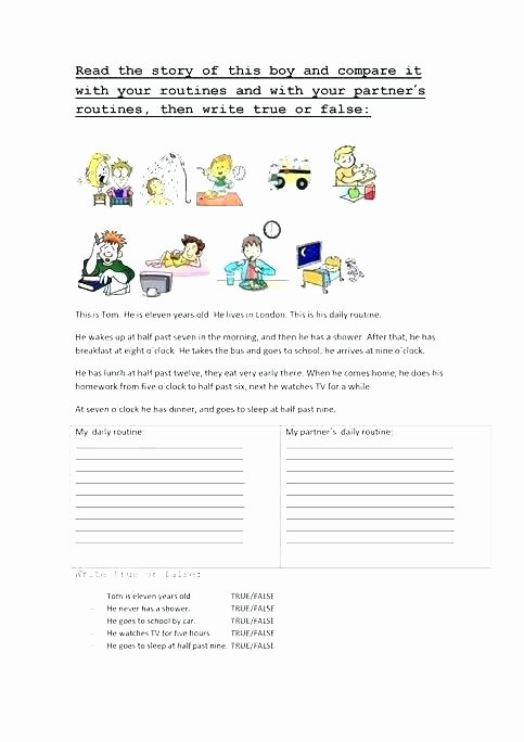 Chronological order Worksheets Picture Story Writing Worksheets