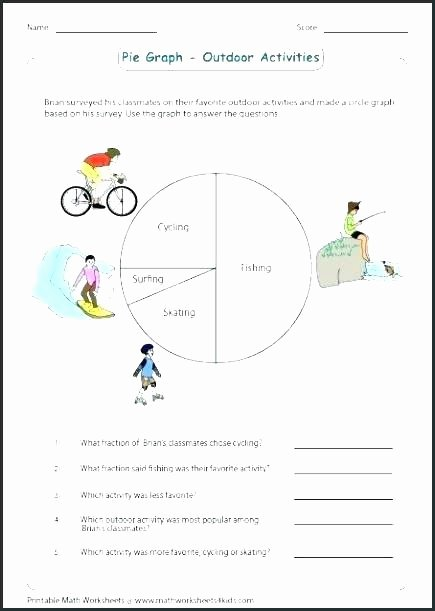 Circle Graphs Worksheets 7th Grade Circle Graph Worksheets Circle Graphs Worksheets the