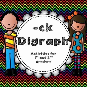 Ck Worksheets for 1st Grade Ck Digraph Worksheets & Teaching Resources