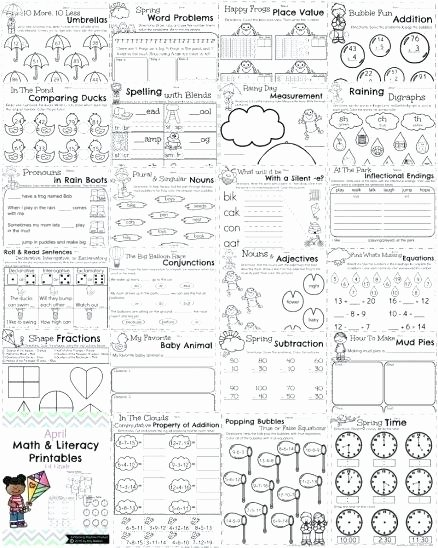Ck Worksheets for 1st Grade Free First Grade English Worksheets