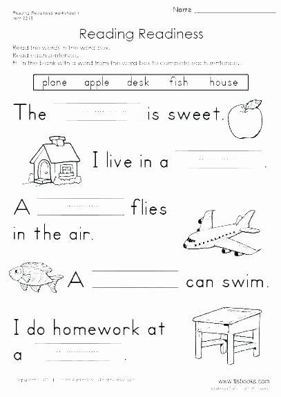 Ck Worksheets for 1st Grade Second Grade Phonics Worksheets