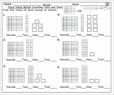 Ck Worksheets for 2nd Grade Best Of Place Value Worksheets 2nd Grade Printable