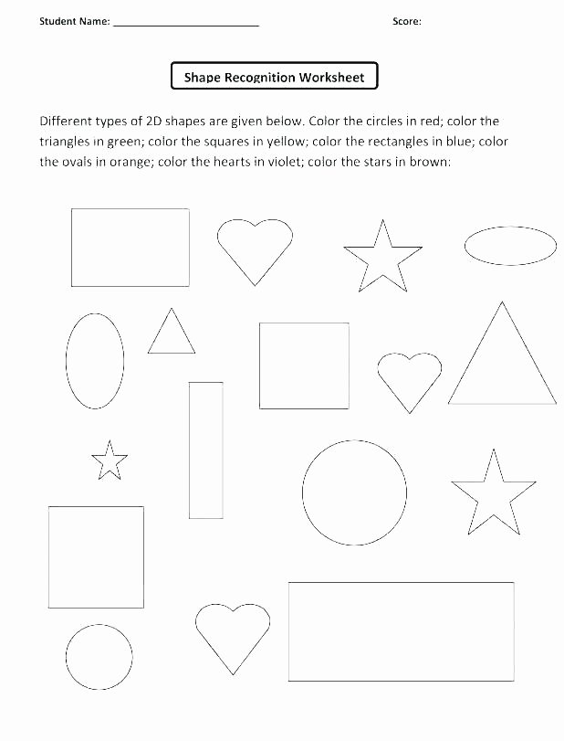 color shapes worksheet coloring school objects pages and colours worksheets colors sorting solid for 3d workshe