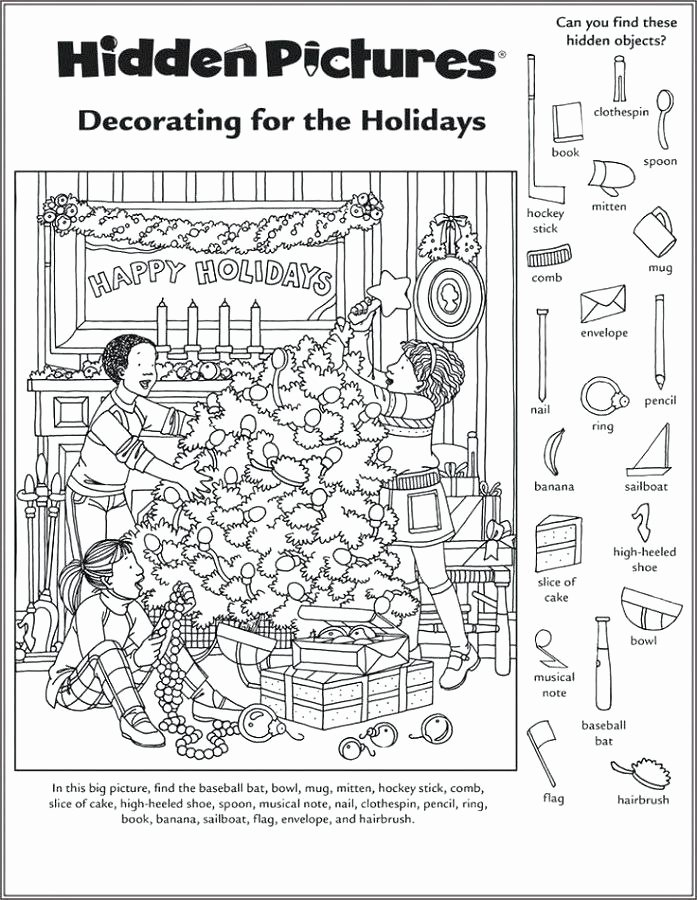 Classroom Objects Worksheets Pdf Spring Hidden Printable Picture Object Coloring