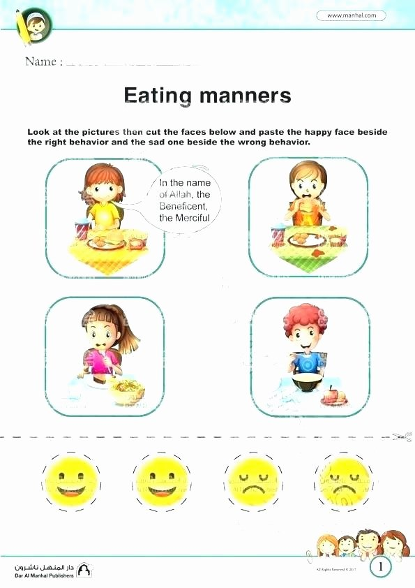 Classroom Rules Worksheet Good Manners Coloring Pages Worksheets Preschool Magic