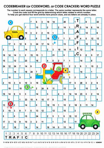 Code Breaker Worksheet Code Puzzle Maker