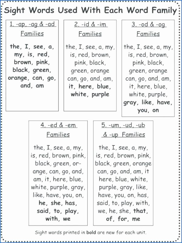 Color Blue Worksheets for Preschool Mon Colors Color Worksheets Sight Words Reading Writing