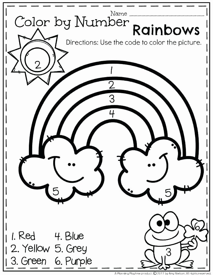 Color Blue Worksheets for Preschool Pre K Color Worksheets