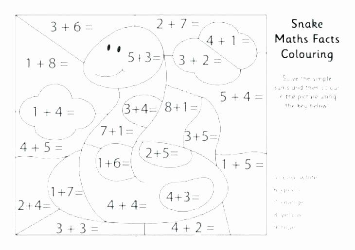 Color by Number Worksheets Kindergarten Pre K Color by Number Worksheets
