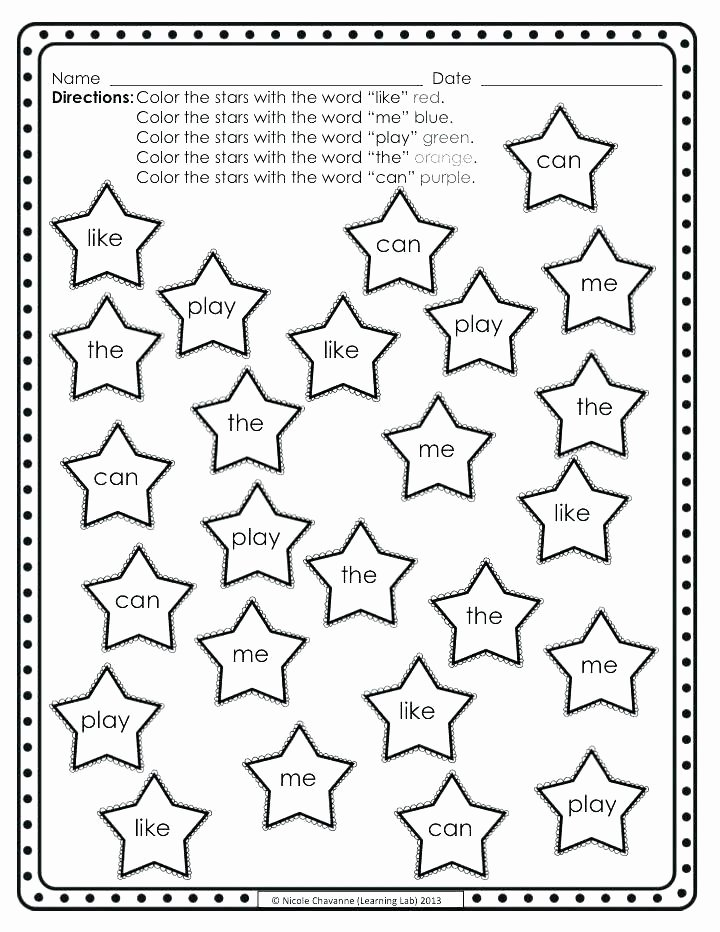 Color by Word Worksheets New Coloring Pages with Color Words – Festivnation