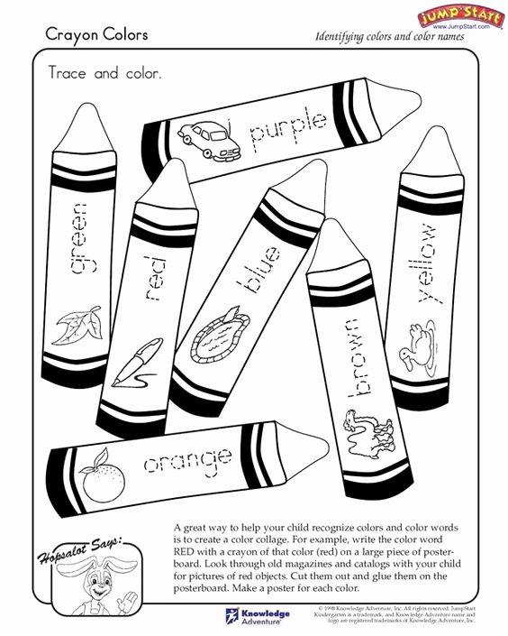 Color Red Worksheets for toddlers 43 Free Printable Color Words Worksheets for Kindergarten