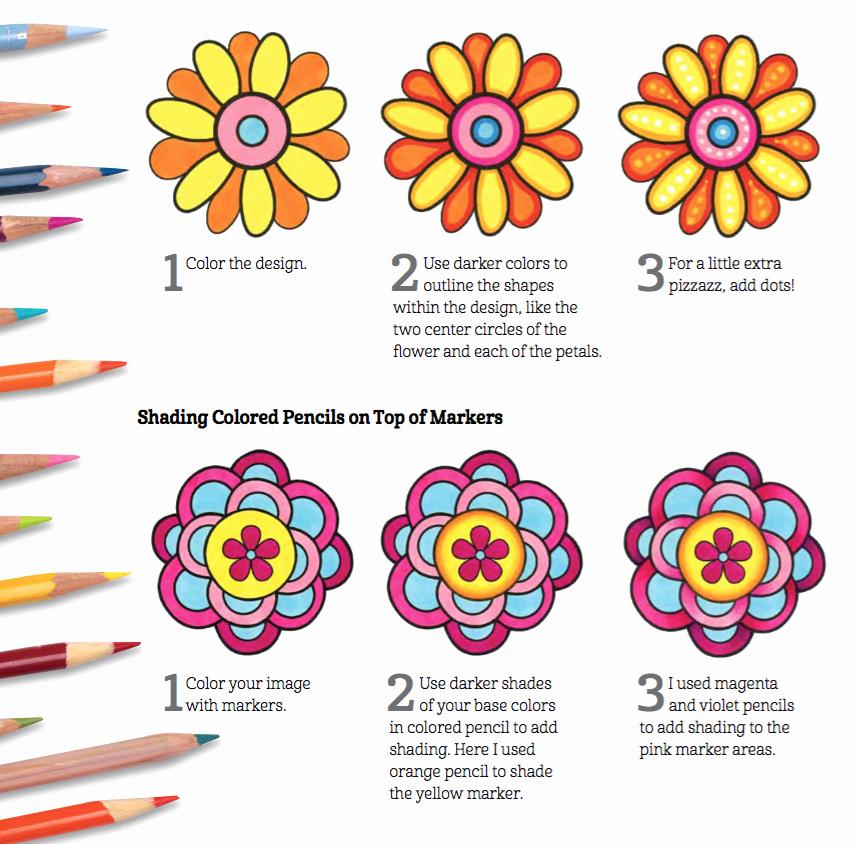 Color Wheel Mandala Lesson Plan Amazon More Good Vibes Coloring Book Coloring is Fun