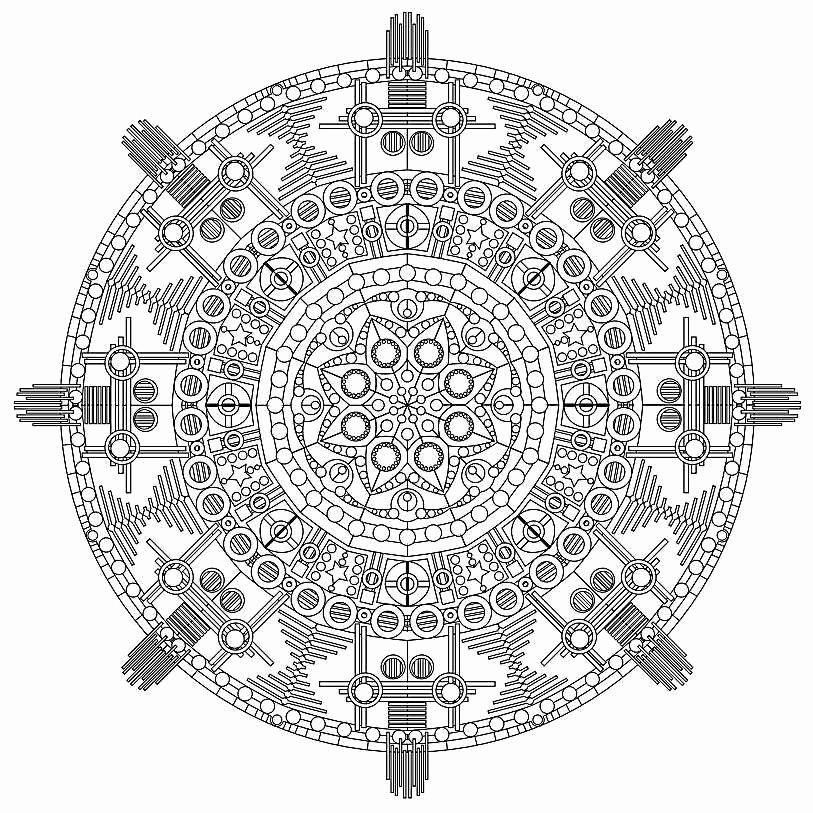 Color Wheel Mandala Lesson Plan Free Printable Mandala Coloring Pages for Adults