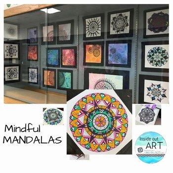 Color Wheel Mandala Lesson Plan Mandala Lesson Worksheets & Teaching Resources